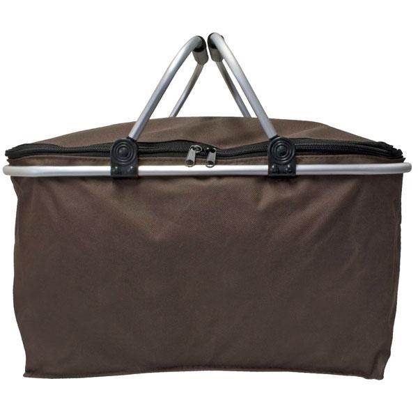 einkaufskorb faltbar alu einkaufstasche picknickkorb korb k rbchen neu ebay. Black Bedroom Furniture Sets. Home Design Ideas