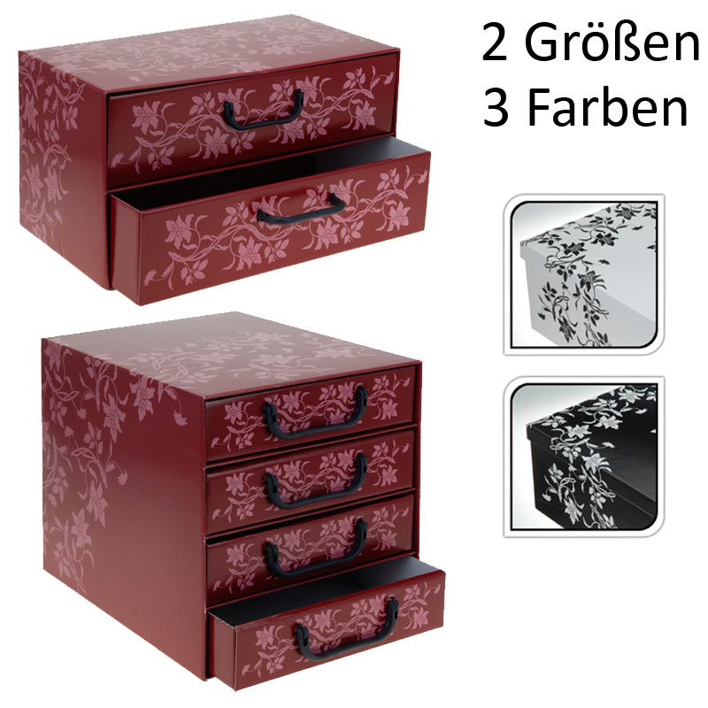 aufbewahrungsbox faltbox karton schubladenbox. Black Bedroom Furniture Sets. Home Design Ideas