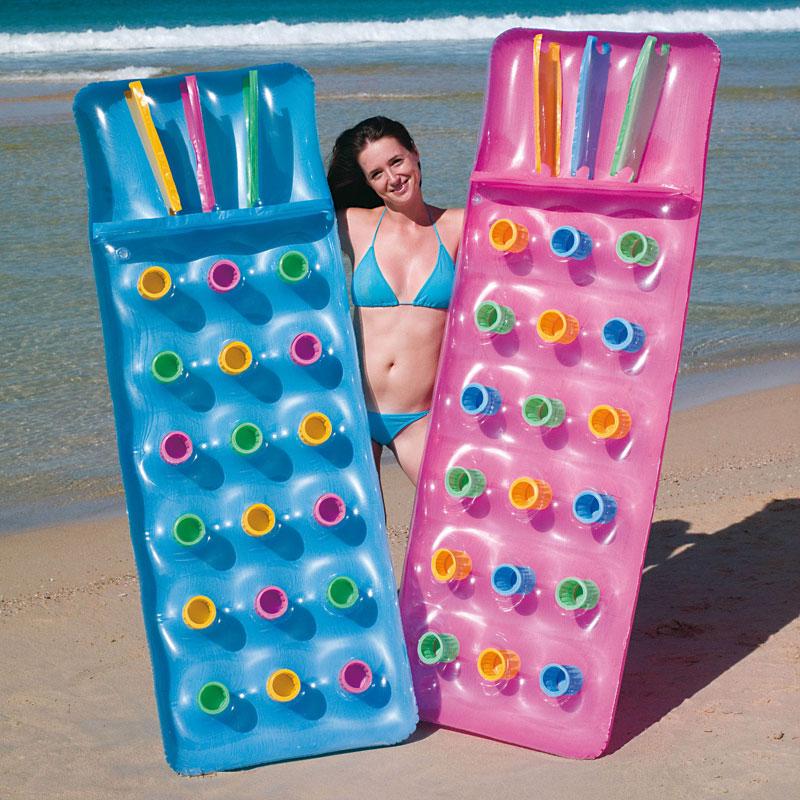 luftmatratze strand matratze solarmatratze schwimm sessel air pool liege 188cm ebay. Black Bedroom Furniture Sets. Home Design Ideas