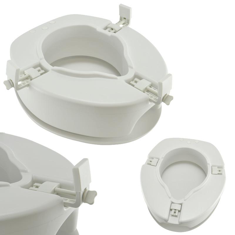 toilettensitzerh hung toilettenaufsatz sitzerh hung duroplast absenkautomatik wc ebay. Black Bedroom Furniture Sets. Home Design Ideas