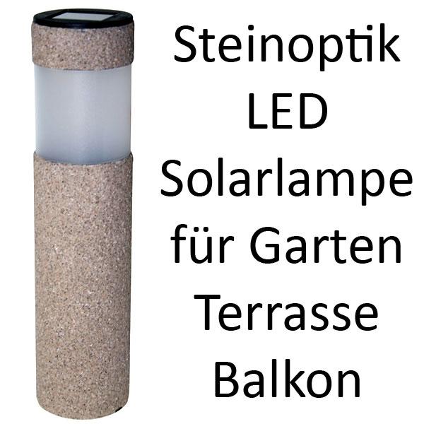 steinoptik led solarleuchte solarlampe garten solar d nne ausf hrung. Black Bedroom Furniture Sets. Home Design Ideas